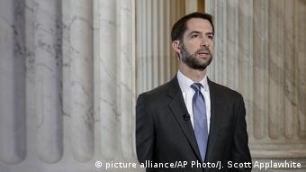 USA jüngste Abgeordnete | Tom Cotton (picture alliance/AP Photo/J. Scott Applewhite)