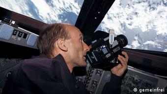 Немецкий астронавт Герхард Тиле