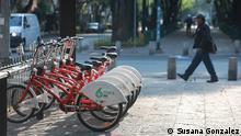 Mexiko Fahrrad fahren in Mexico-City