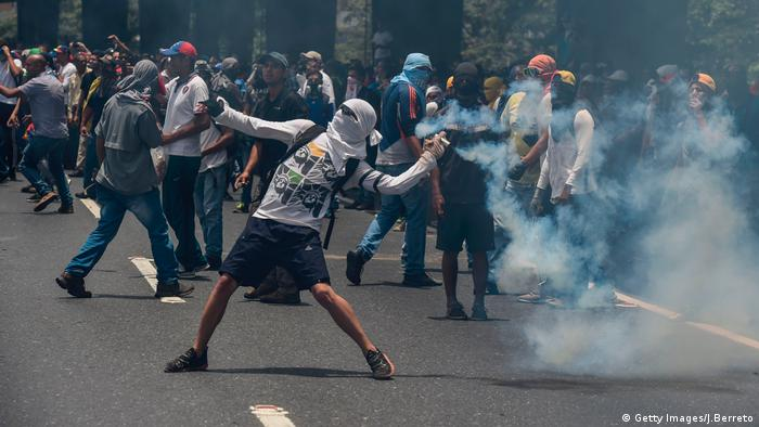 Venezuela Opposition Marsch Protest Demo (Getty Images/J.Berreto)