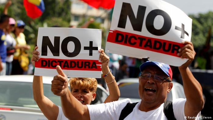 Venezuela Protest Opposition Marsch Demo