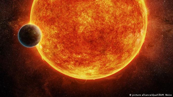 Neu entdecker Exoplanet (picture alliance/dpa/CfA/M. Weiss)