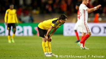 Champions League AS Monaco vs Borussia Dortmund (REUTERS/Livepic/J. P. Pelissier)