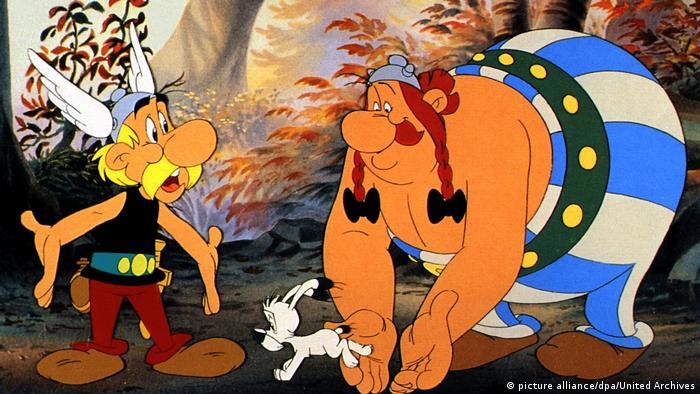 Junto al perro Idéafix, Astérix y Obélix saltan de una aventura a otra desde hace décadas.