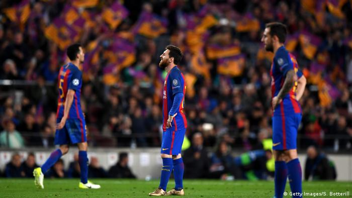Champions League FC Barcelona vs Juventus (Getty Images/S. Botterill)