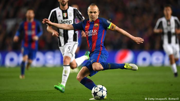 Champions League FC Barcelona vs Juventus (Getty Images/S. Botterill)