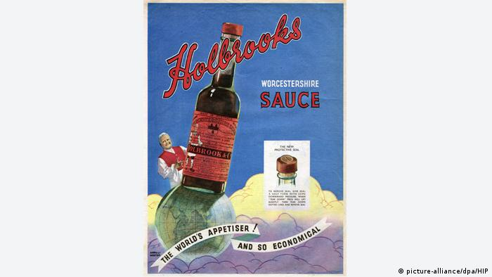 Holbrook's Worcester Sauce 1949 (picture-alliance/dpa/HIP)