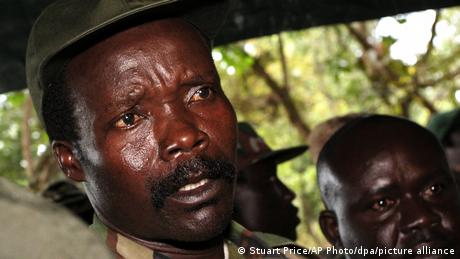 Joseph Kony (photo: picture alliance/dpa/AP Photo/S. Price)