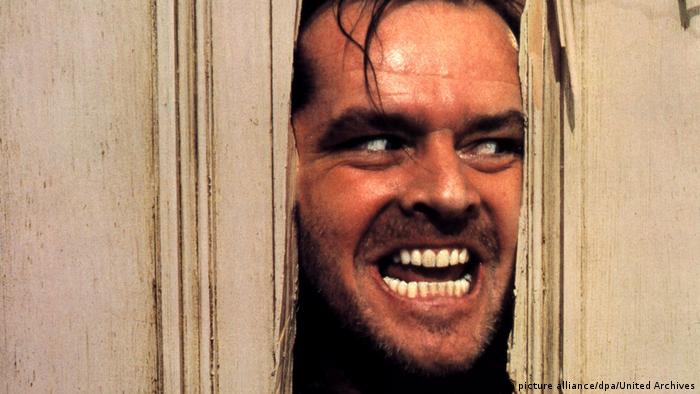 Filmstill Jack Nicholson in Shining (picture alliance/dpa/United Archives)
