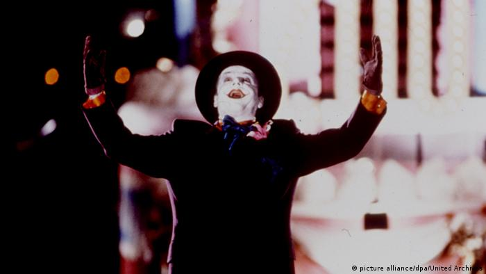 Filmstill Jack Nicholson in Batman (picture alliance/dpa/United Archives)