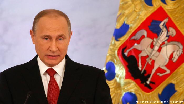 Russland Wladimir Putins jährlichen Rede an die Nation