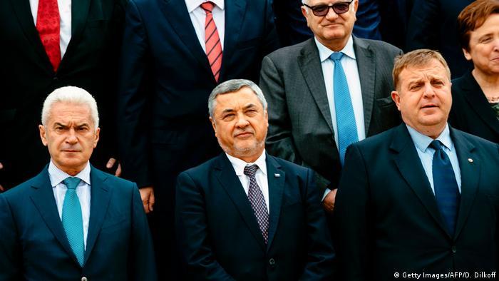Волен Сидеров, Валери Симеонов и Красимир Каракачанов