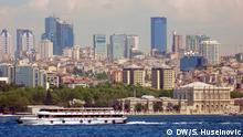 Sommer 2016 Istanbul, Haupstadt der Türkei, Stadtansicht