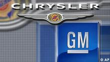 Fusion General Motors und Chrysler Finanzkrise Autokrise