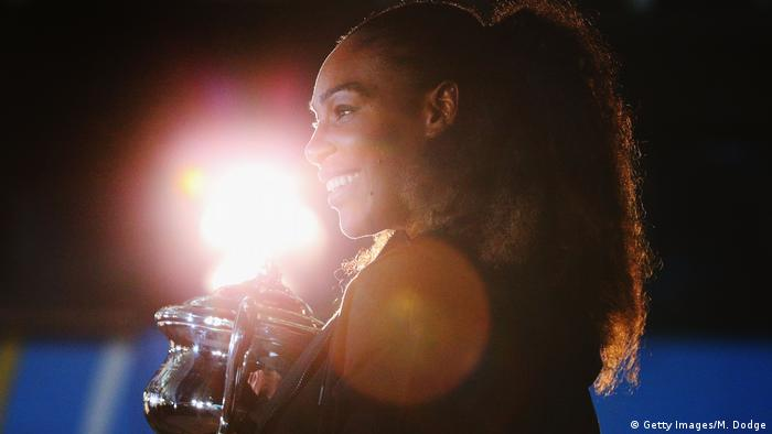 Australien Serena Williams bei den Australian Open in Melbourne (Getty Images/M. Dodge)
