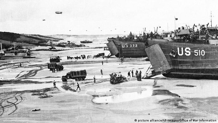 Zweite Weltkrieg D-Day (picture alliance/AP Images/Office of War Information)