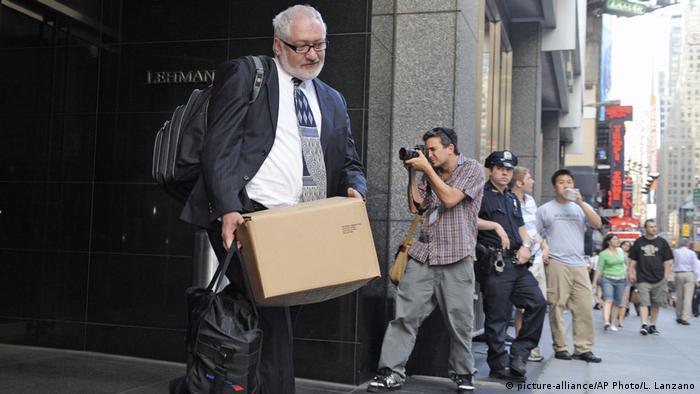 New York City Lehman Brothers Zentrale