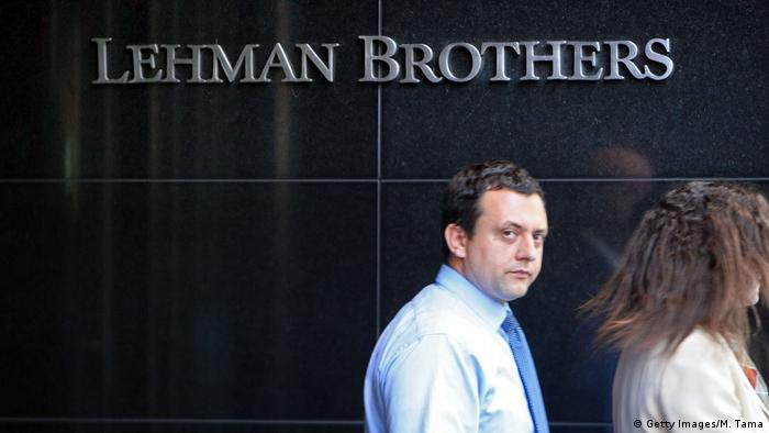 New York City Lehman Brothers Zentrale (Getty Images/M. Tama)