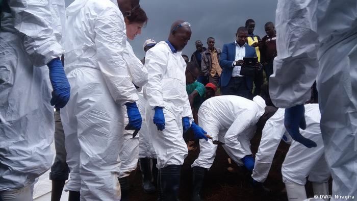 Mass graves have been found in Burundi