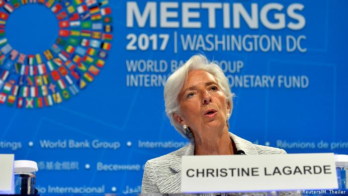 IWF Direktorin des Internationalen Währungsfond, Christine Lagarde (Reuters/M. Theiler)