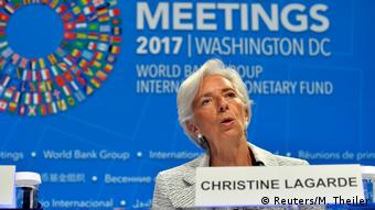 IWF Direktorin des Internationalen Währungsfond, Christine Lagarde