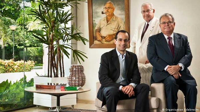 Norberto, Emilio e Marcelo: dinastia por décadas no comando da empresa