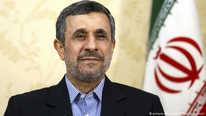 Iran | Mahmoud Ahmadinejad (picture-alliance/AP Photo/E. Noroozi)