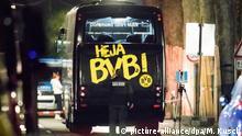 Deutschland Explosionen an BVB-Bus