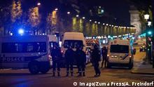 Frankreich Paris nach Schießerei auf Champs-Elysées