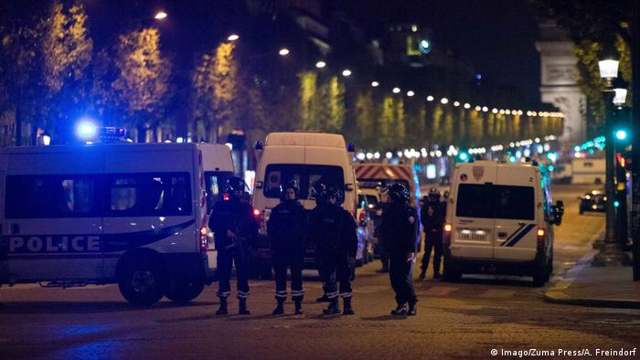 Frankreich Paris nach Schießerei auf Champs-Elysées (Imago/Zuma Press/A. Freindorf)