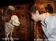Exposición  sobre Darwin en el Museo de Historia Natural de Londres.