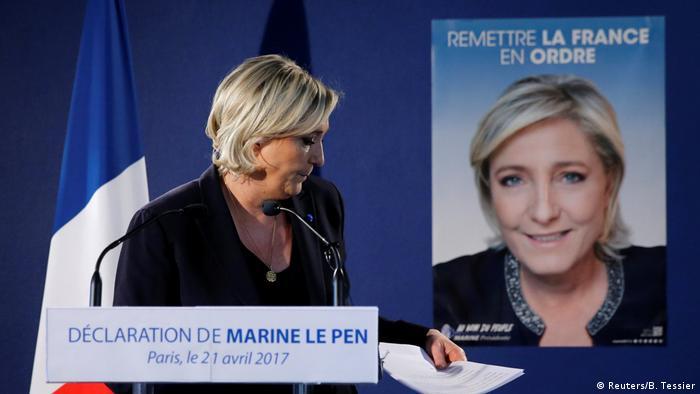 Marine Le Pen speră că Macron va eșua
