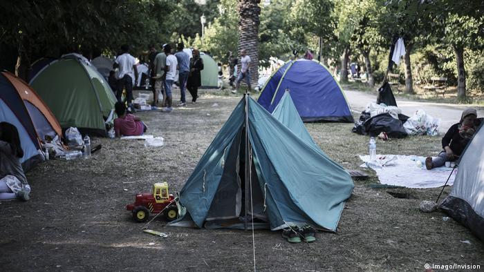 Griechenland Park Pedion tou Areos in Athen