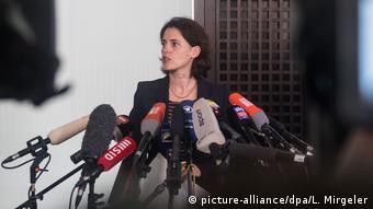 Пресс-секретарь Федеральной прокуратуры в Карлсруэ