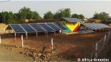 Pressebild Africa-Greentec - Solarkraftwerk in Mali