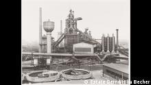 Bernd (1931–2007) and Hilla Becher (1934–2015) Gutehoffnungshütte, Oberhausen, Ruhrgebiet, 1963 Gelatine silver print on baryta paper, 75.3 x 91.4 cm Art Collection Deutsche Börse Deutsche Börse Photography Foundation © Estate Bernd & Hilla Becher
