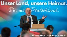AfD-Landesparteitag in Sachsen - Jens Maier (picture-alliance/dpa/S. Kahnert)
