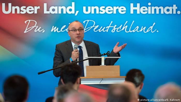 Jens Maier é deputado pela AfD