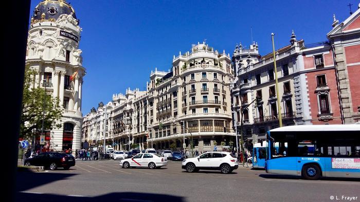 Traffic in Madrid