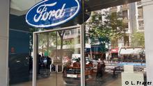 Spanien Fordhändler in Madrid