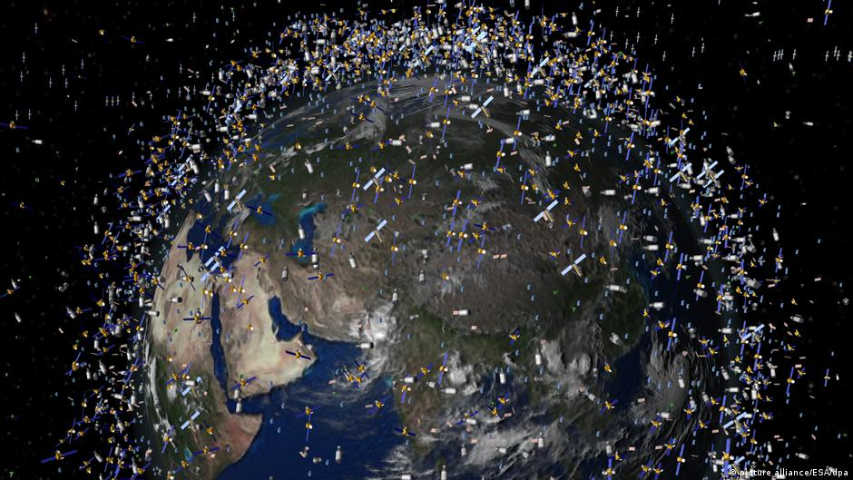 the impact of att breaking up into four satelite companies There, the old satellite's antenna could be recycled and incorporated into the tiny satellite, effectively creating a new communications system without necessarily producing more space junk.