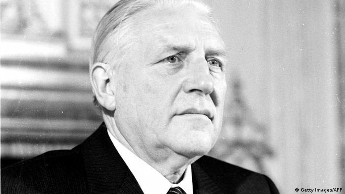 Ehemaliger Premierminister Pierre Werner Luxemburg