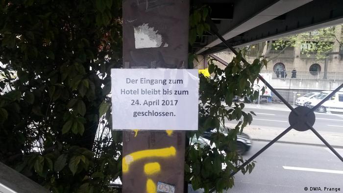 Deutschland Köln vor AfD-Parteitag | Hoteleingang geschlossen