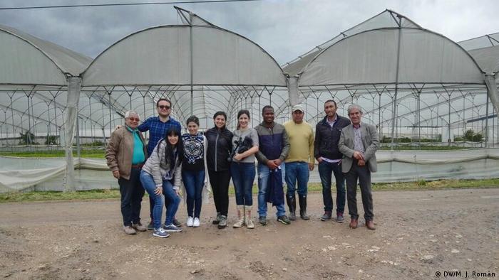 Kolumbien Bogota Startup Meteoagro (DW/M. J. Román)