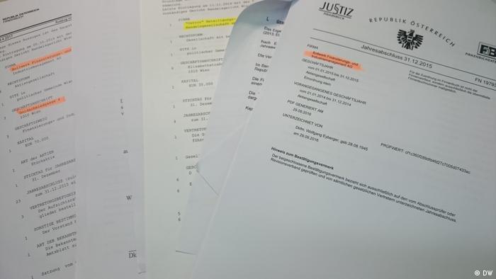 Документи з австрійських реєстрів дозволяють краще зрозуміти схему