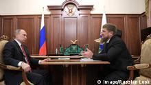 Putin und Ramsan Achmatowitsch Kadyrow