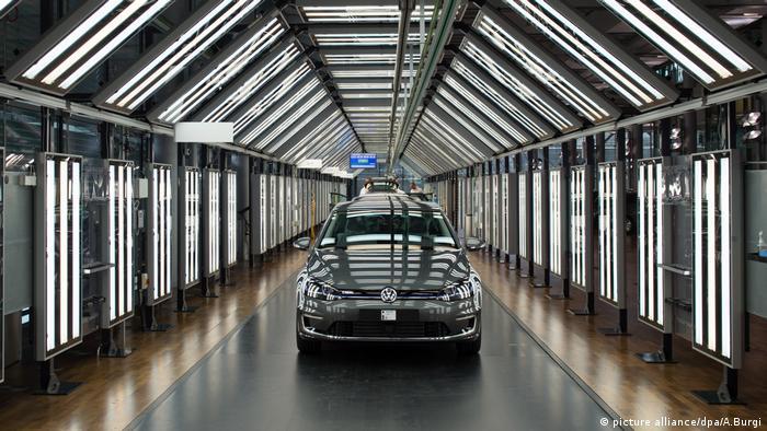 Электромобиль Volkswagen Golf