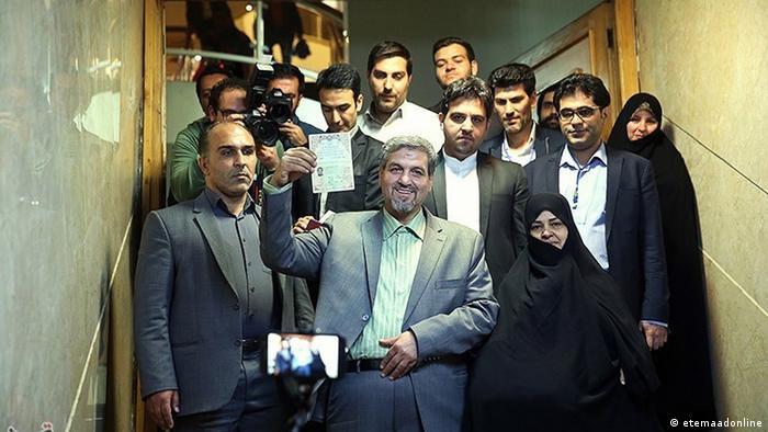 Iran Wahl Kanditat Mostafa Kavakebian