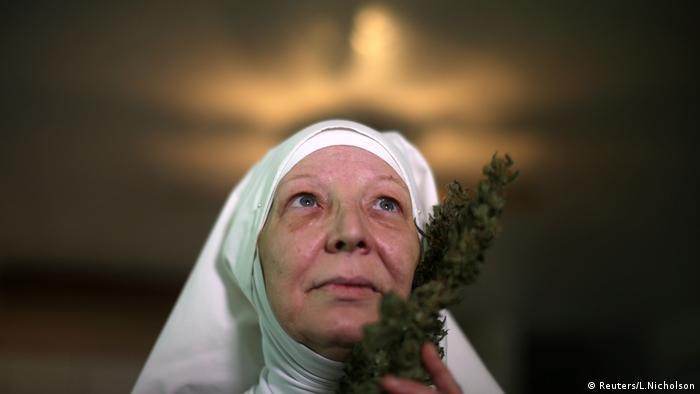 Weed Nuns Marihuana Nonnen (Reuters/L.Nicholson)
