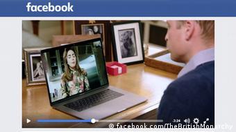 Screenshot Facebook Royal Family